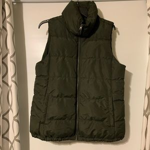 Green Puff Vest